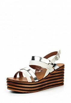Босоножки, Catisa, цвет: белый. Артикул: CA072AWTFP18. Женская обувь / Босоножки