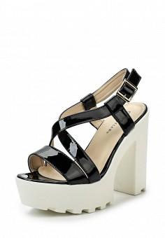 Босоножки, Catisa, цвет: черный. Артикул: CA072AWTFP48. Женская обувь / Босоножки