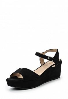 Босоножки, Catisa, цвет: черный. Артикул: CA072AWTFP50. Женская обувь / Босоножки