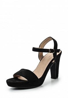 Босоножки, Catisa, цвет: черный. Артикул: CA072AWTFP75. Женская обувь / Босоножки