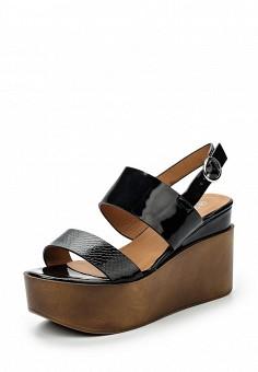 Босоножки, Catisa, цвет: черный. Артикул: CA072AWTFP97. Женская обувь / Босоножки
