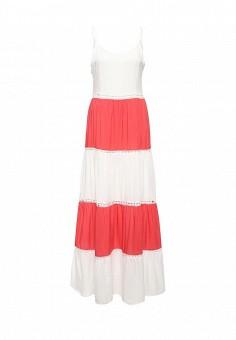 Платье, Care of You, цвет: белый. Артикул: CA084EWJMH74. Женская одежда / Платья и сарафаны / Летние платья
