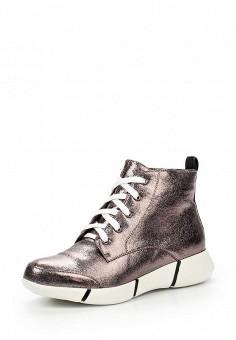 Кроссовки, Cesare Correnti, цвет: серебряный. Артикул: CE011AWLCS36. Женская обувь / Кроссовки и кеды / Кроссовки