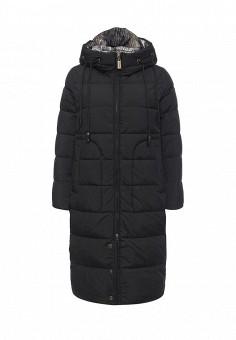 Куртка утепленная, Clasna, цвет: черный. Артикул: CL016EWNLR88. Женская одежда / Верхняя одежда / Пуховики и зимние куртки
