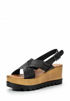 Босоножки, Coco Perla, цвет: черный. Артикул: CO039AWJY671. Женская обувь / Босоножки