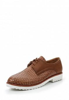 Ботинки, Coco Perla, цвет: коричневый. Артикул: CO039AWRTT68. Женская обувь / Ботинки / Низкие ботинки