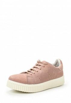 Кеды, Coolway, цвет: розовый. Артикул: CO047AWRWR27. Женская обувь / Кроссовки и кеды
