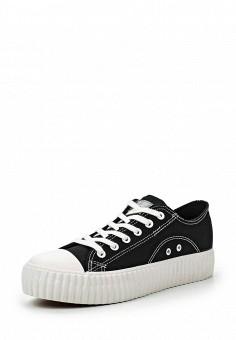 Кеды, Coolway, цвет: черный. Артикул: CO047AWRWR32. Женская обувь / Кроссовки и кеды