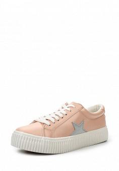 Кеды, Coolway, цвет: розовый. Артикул: CO047AWRWR41. Женская обувь / Кроссовки и кеды