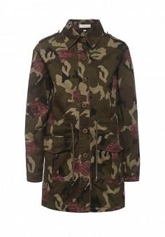 Парка, Coco Nut, цвет: хаки. Артикул: CO057EWRUJ80. Женская одежда / Верхняя одежда / Парки