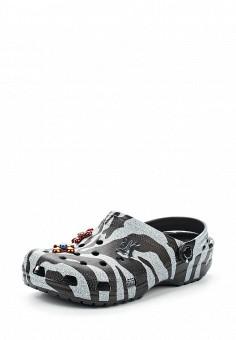 Сабо, Crocs, цвет: серый. Артикул: CR014AWVCV29. Премиум / Обувь / Сандалии