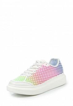 Кеды, Dino Ricci Trend, цвет: мультиколор. Артикул: DI029AWQYY15. Женская обувь / Кроссовки и кеды