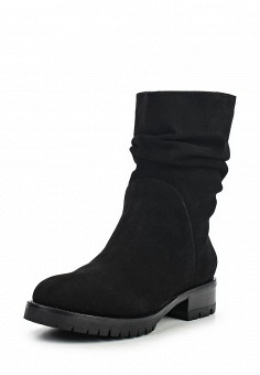 Полусапоги, DKNY, цвет: черный. Артикул: DK001AWMGI27. Премиум / Обувь