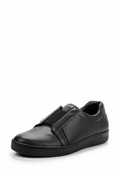 Кеды, DKNY, цвет: черный. Артикул: DK001AWMGI31. Женская обувь / Кроссовки и кеды