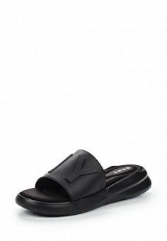 Шлепанцы, DKNY, цвет: черный. Артикул: DK001AWROY34. Премиум / Обувь