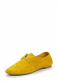 Ботинки, D.Moro, цвет: желтый. Артикул: DM001AWROV97. Женская обувь / Ботинки