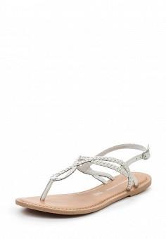 Сандалии, Dorothy Perkins, цвет: белый. Артикул: DO005AWSIN43. Женская обувь / Сандалии