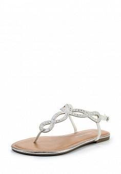 Сандалии, Dorothy Perkins, цвет: белый. Артикул: DO005AWTQP86. Женская обувь / Сандалии