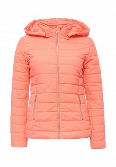 Куртка утепленная, Drywash, цвет: коралловый. Артикул: DR592EWQJQ28. Женская одежда / Верхняя одежда / Демисезонные куртки