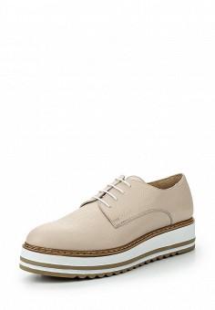 Ботинки, Ekonika, цвет: бежевый. Артикул: EK002AWPYD50. Женская обувь / Ботинки