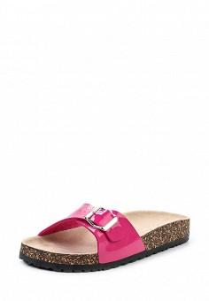 Шлепанцы, Ella, цвет: розовый. Артикул: EL023AWEBB93. Женская обувь / Шлепанцы и акваобувь
