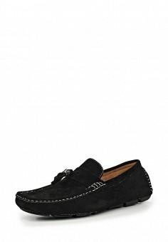 Мокасины, Elong, цвет: черный. Артикул: EL025AMIOW68. Мужская обувь / Мокасины и топсайдеры