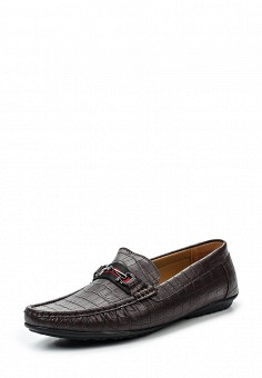 Мокасины, Elong, цвет: коричневый. Артикул: EL025AMRTU34. Мужская обувь / Мокасины и топсайдеры