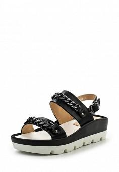Босоножки, Elche, цвет: черный. Артикул: EL242AWSCS95. Женская обувь / Босоножки