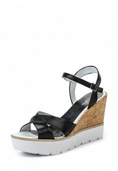 Босоножки, Simen, цвет: черный. Артикул: ER946AWRJD86. Женская обувь / Босоножки