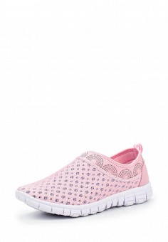 Кроссовки, Escan, цвет: розовый. Артикул: ES021AWQSB39. Женская обувь / Кроссовки и кеды / Кроссовки