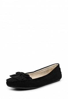 Мокасины, Evans, цвет: черный. Артикул: EV006AWQTF65. Женская обувь / Мокасины и топсайдеры