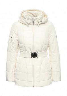 Куртка утепленная, FiNN FLARE, цвет: бежевый. Артикул: FI001EWKHE26. Женская одежда / Верхняя одежда