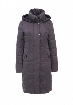 Куртка утепленная, FiNN FLARE, цвет: фиолетовый. Артикул: FI001EWKHF51. Женская одежда / Верхняя одежда