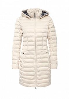 Куртка утепленная, FiNN FLARE, цвет: бежевый. Артикул: FI001EWKHG15. Женская одежда / Верхняя одежда
