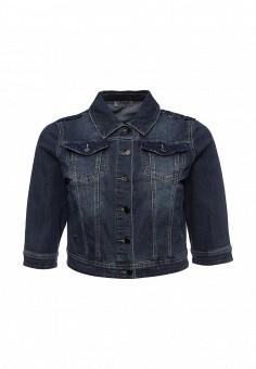Куртка, Fiorella Rubino, цвет: синий. Артикул: FI013EWSTO66. Женская одежда / Верхняя одежда / Джинсовые куртки
