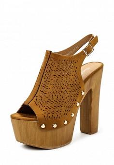 Босоножки, Fiori&Spine, цвет: коричневый. Артикул: FI021AWSZD66. Женская обувь / Босоножки