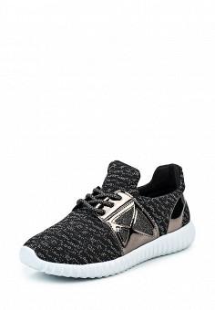 Кроссовки, Flyfor, цвет: черный. Артикул: FL009AWQTI56. Женская обувь / Кроссовки и кеды / Кроссовки