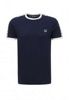 Футболка, Fred Perry, цвет: синий. Артикул: FR006EMUIA58. Fred Perry