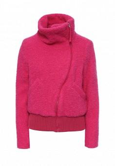 Куртка, Gas, цвет: фуксия. Артикул: GA340EWRLO45. Женская одежда / Верхняя одежда / Косухи