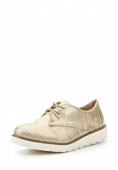 Ботинки, Guapissima, цвет: золотой. Артикул: GU016AWSNW79. Женская обувь / Ботинки / Низкие ботинки