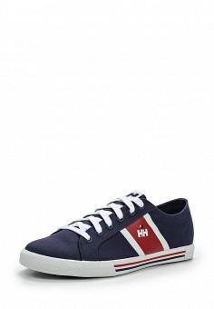 Кеды, Helly Hansen, цвет: синий. Артикул: HE012AMEBO03. Мужская обувь / Кроссовки и кеды