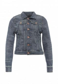 Куртка джинсовая, H.I.S, цвет: синий. Артикул: HI002EWQAQ30. Женская одежда / Верхняя одежда / Джинсовые куртки