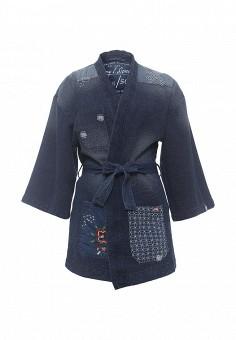 Куртка джинсовая, H.I.S, цвет: синий. Артикул: HI002EWQAQ31. Женская одежда / Верхняя одежда / Джинсовые куртки