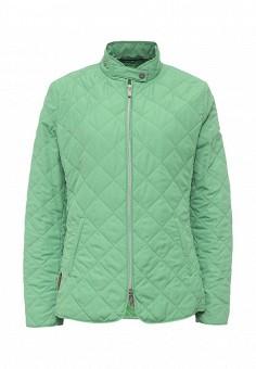 Куртка утепленная, Husky, цвет: зеленый. Артикул: HU011EWQRR69. Женская одежда / Верхняя одежда / Демисезонные куртки