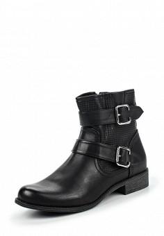 Полусапоги, Instreet, цвет: черный. Артикул: IN011AWPMA32. Женская обувь / Ботинки