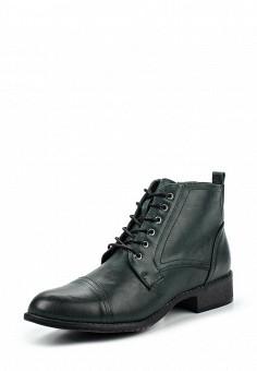 Ботинки, Instreet, цвет: зеленый. Артикул: IN011AWPMA33. Женская обувь / Ботинки