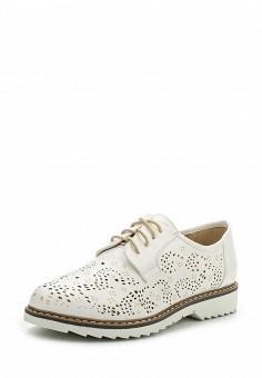 Ботинки, Instreet, цвет: белый. Артикул: IN011AWPRC45. Женская обувь / Ботинки