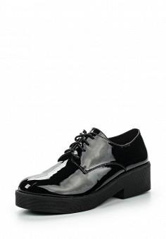 Ботинки, Instreet, цвет: черный. Артикул: IN011AWPRC46. Женская обувь / Ботинки