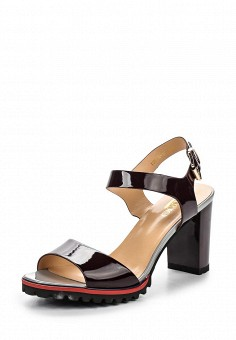 Босоножки, Inario, цвет: бордовый. Артикул: IN029AWQQX93. Женская обувь / Босоножки