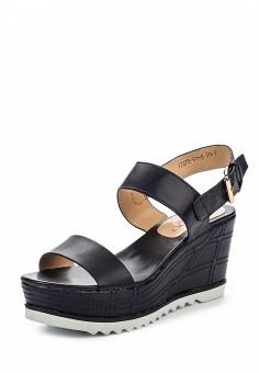 Босоножки, Inario, цвет: синий. Артикул: IN029AWQQY03. Женская обувь / Босоножки